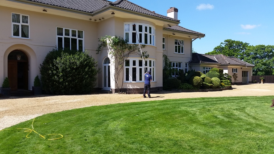Window cleaning service Worcester